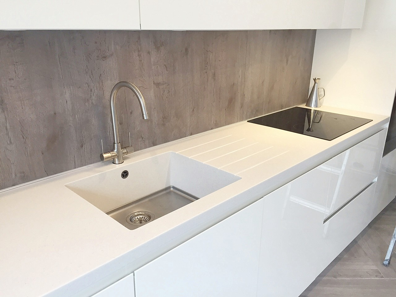 Y- Line / LK / Gloss White / ( Glanmire, Cork ) | Contemporary Kitchens