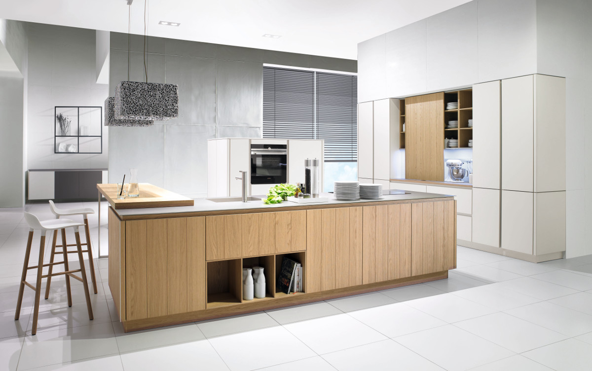 Wood Shaker Kitchens Contemporary Kitchens